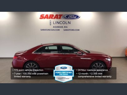 Photo Certified 2017 Lincoln Continental Reserve for sale