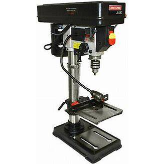 Photo Craftsman 8 inch 3speed 116 hp drill press - $50 (MA - Northton)