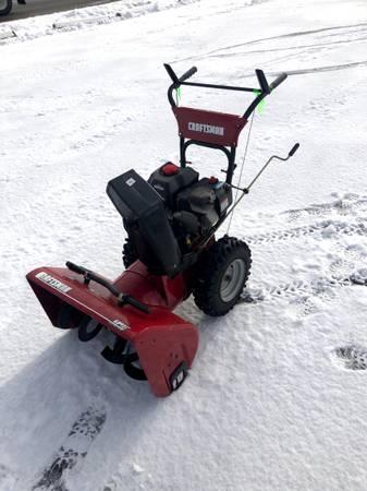 Photo Craftsman Snow Blower - $400 (Wilbraham)