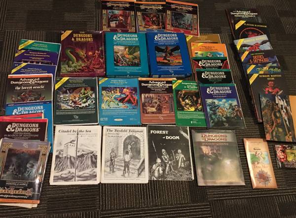 Photo Dungeons and Dragons Book Collection - $1500 (Cheshire, MA)