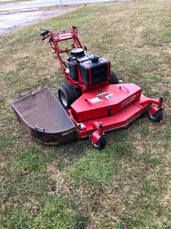 Photo Ferris Hydrostatic Walk Behind Lawn Mower - $1,825 (Wilbraham)