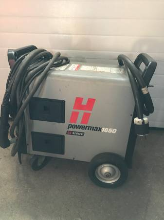 Photo Hypertherm powermax 1650 g3 series plasma cutter - $2900 (Chicopee)