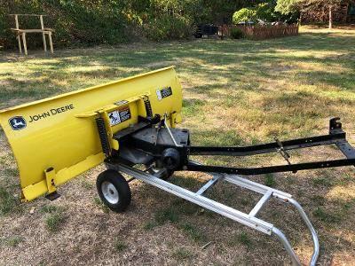 Photo John Deere 48quot Snow Plow - $400 (Farmington, ct)