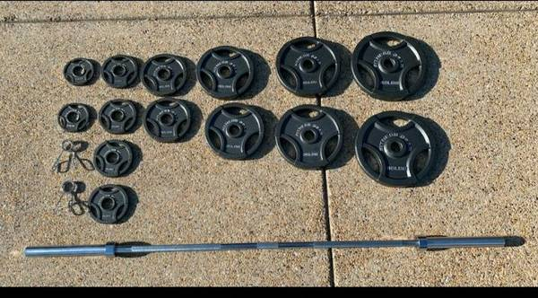 Photo Olympic Weight Set -300 lbs Brand New - $575 (West Springfield)