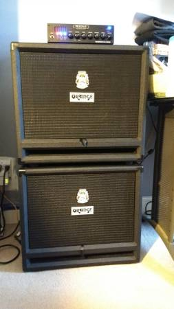 Photo Orange OBC212 Bass Cabinet (Black Tolex) - $500 (SPringfield, Ma)