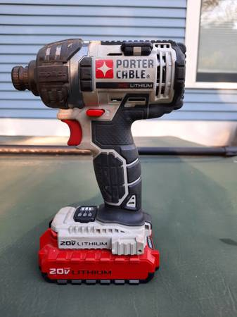 Photo Porter Cable 20V Lithium Impact Driver - $50 (Greenfield)