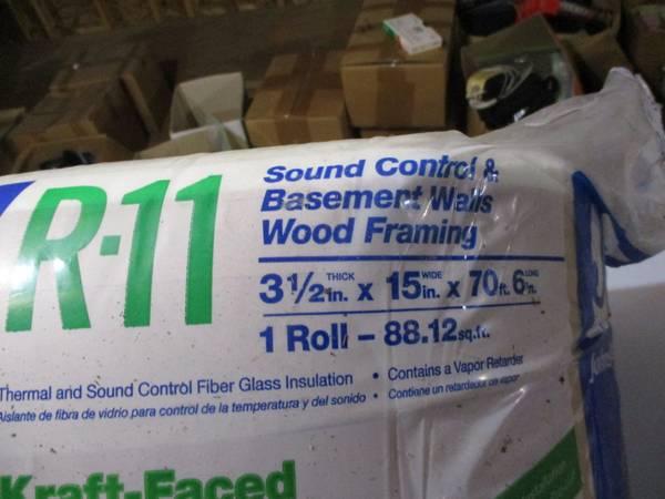 Photo R-11 Insulation 15 12 x 7039 - 1 Roll - $35 (Cummington)