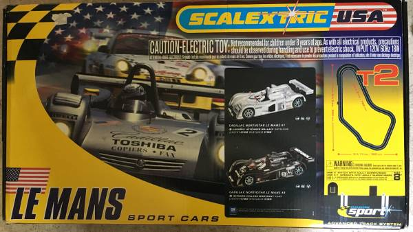 Photo Scalextric Slot Car T2 Track - $110 (Westfield)