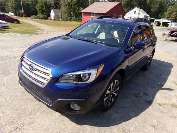 Photo Subaru 17 Outback Limited 23K Eyesight Leather Nav. Loaded - $21495 (JLS Auto Vernon Vt)