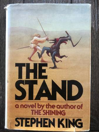 Photo The Stand by Stephen King (1978, Hardcover) - $80 (Easthton, MA)