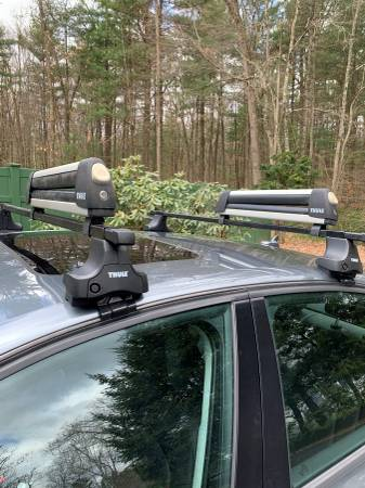 Photo Thule roof racks for Audi A4 - $150 (Wilbraham)