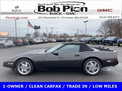 Photo Used 1988 Chevrolet Corvette Convertible for sale