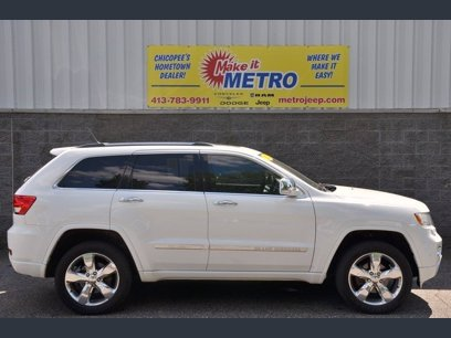 Photo Used 2013 Jeep Grand Cherokee Overland for sale