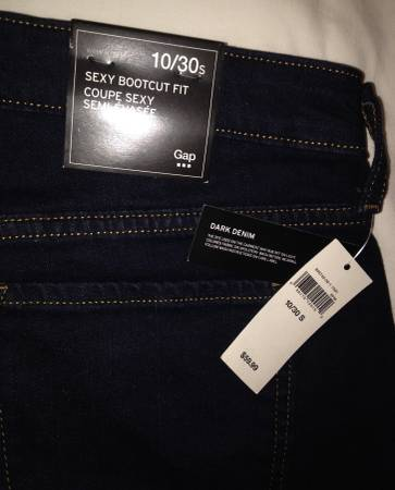 Photo Women39s GAP Jeans size 1030s Brand New with tags - $20 (Easthton)