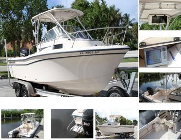 Photo boat gradywhite adventrue208 walk around - $14,520 (new haven)