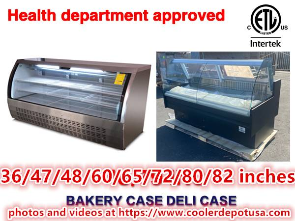 Photo refrigerator bakery deli pastry case display showcase RESTAURANT EQUIP - $940 (100 newq)