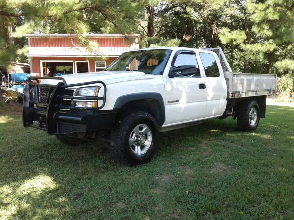 Photo 2006 Chevy 4x4 2500 HD trade for RV corport and cash or rzr 900-1000 - $8,500 (PARIS TN)