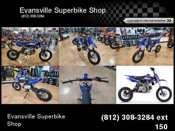 Photo 2021 SSR Motorsports SR125 Auto Pit Bike 125 cc - $1,454 (Evansville, In)