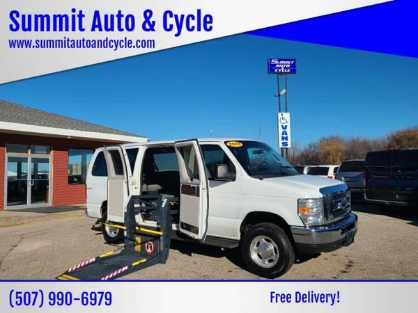 Photo Handicap Wheelchair Conversion 2009 Ford E-Series Wagon E 150 XL - $19,888 (Summit Auto and Cycle)