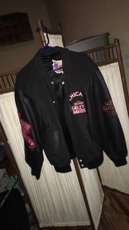 Photo NWT vintage Harley Davison Jeff Hamilton jacket coat Chicago - $250 (Mcleansboro)