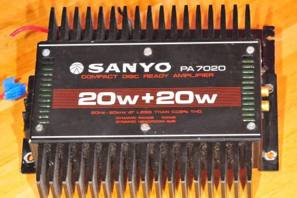 Photo Sanyo PA 7020 car  - $20 (morganfield ky)