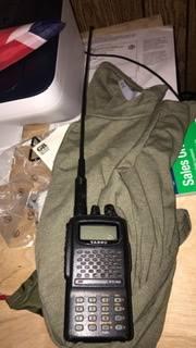 Photo Yaesu FT-60R handheld dual band ham radio - $60