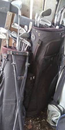 Photo golf clubs set,right and left and juior sets - $40 (murray)
