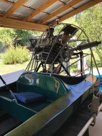 Photo 1972 Panther Air Boat - $3900