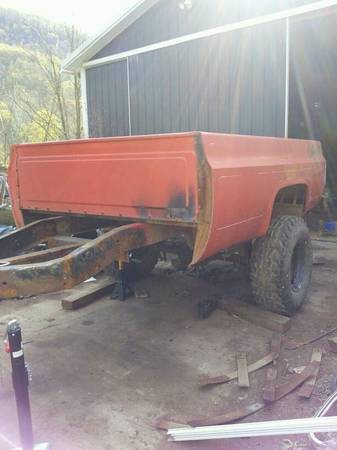 Photo 7739 k5 blazer, 7539 K10 shortbed, 8039 lifted longbed trailer  parts - $3000