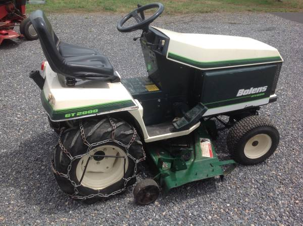 Photo Bolens Garden Tractor For Sale - $2,100 (Cumberland Maryland)
