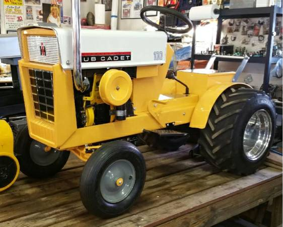 Fresh Build Cub Cadet 100 Stock Pulling Garden Tractor 1750