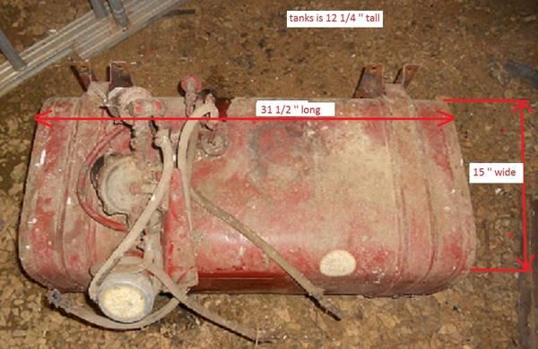 Photo Fuel Tank Diesel - $120 (Keedysville)
