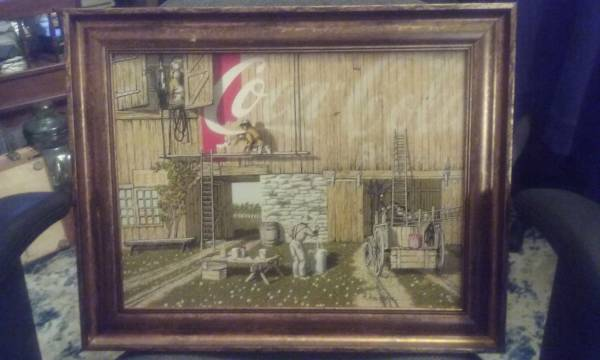Photo H. Hargrove Oil Painting - $40 (Frederick Md)