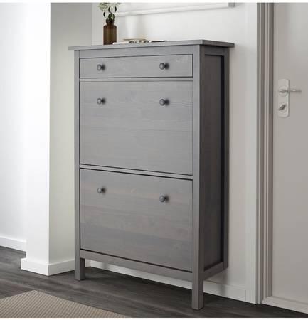 Photo IKEA HEMNES SHOE CABINET - $75 (Silver Spring)