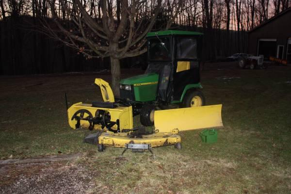 Photo John Deere 455 Diesel - $6200 (Grantsville)