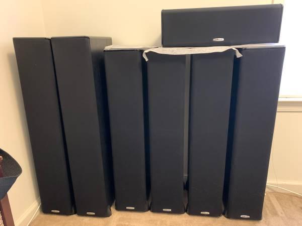 Photo Polk TSi speakers 6.1 surround - $500 (Toms Brook)