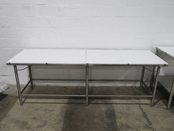 Photo Polytop Stainless Steel Cutting Table Auction (Cleveland)