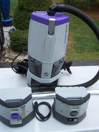 Photo Proteam  pro team CORDLESS Backpack Vacuum, Commercial Grade Backpack - $595 (Chambersburg, Pennsylvania)