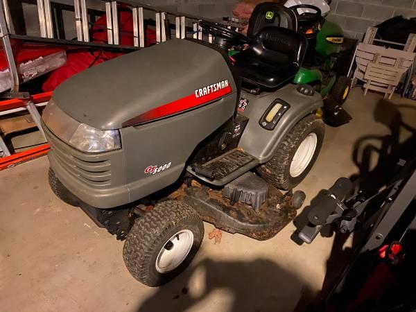 Photo REDUCED Craftsman Garden Tractor and Snowblower - $750 (Swanton)