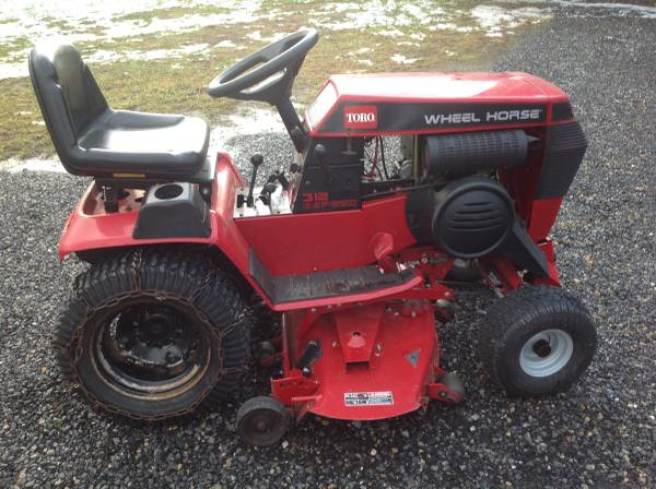 Photo Toro,Wheel Horse 312-8 For sale - $1500 (Cumberland, Maryland)