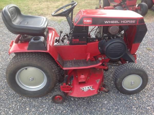 Photo Toro, wheel Horse 315-8 Tractor for sale - $1295 (Cumberland, Maryland)