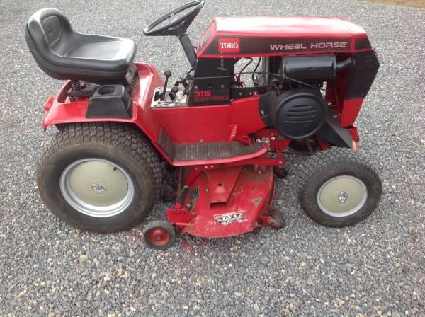 Photo Toro, wheel Horse 315-8 Tractor for sale - $1150 (Cumberland, Maryland)