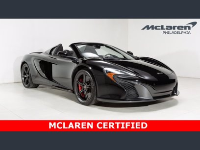 Photo Used 2015 McLaren 650S Spider for sale