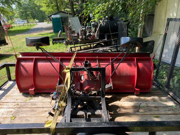Photo Western Power Angle Snow plow - $1200