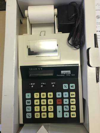 Photo vintage montgomery wards calculator - $20 (hagerstown)