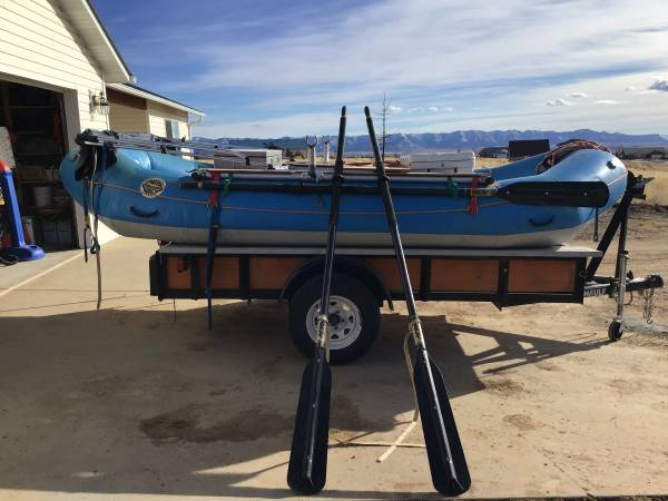 Photo 14 RMR whitewater raft, frame, accessories - $4300 (Dolores)