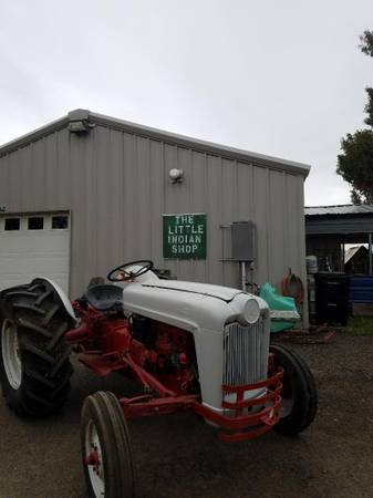 Photo 1954 Ford NAA Tractor - $2,200 (Pagosa Springs)