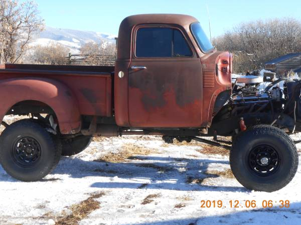 Photo 1954 chevy 3100 - $8500 (Carbondale)