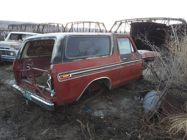 Photo 1979 Ford Bronco parts - $600 (Grand junction)