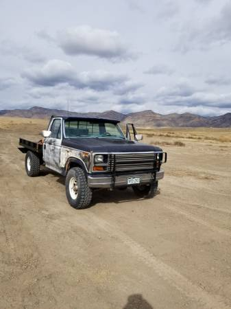 Photo 1981 Ford F250hd 4x4 400ci - $1850 (Grand Junction)